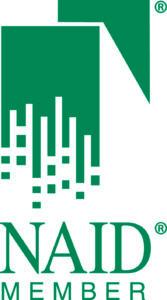 NAID Member Logo Pantone 323 REG High Res