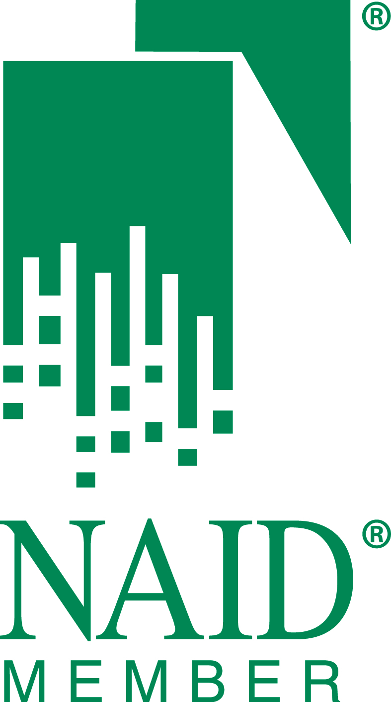 NAID Member Logo Pantone 323 REG High Res